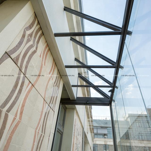 некоторых стеклянная крыша на балконе фото редактировании